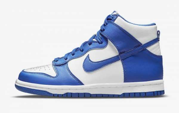 """Nike Dunk High """"Game Royal"""" DD1399-102 2021 New Released"""