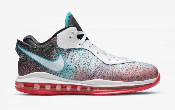 "New Nike LeBron 8 Low ""Miami Nights"" Sneakers For Sale"