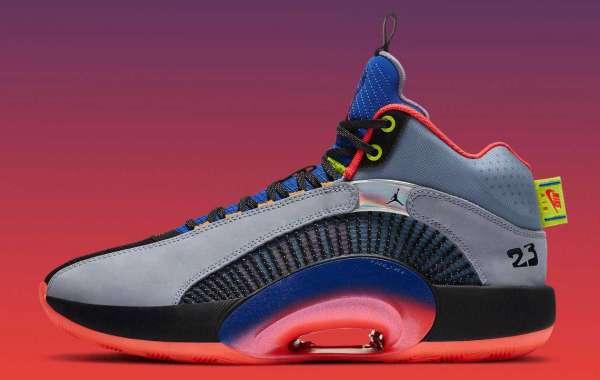 "Best Selling Air Jordan 35 ""Center of Gravity"" Basketball Shoes"