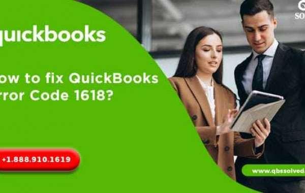 Here's Quick Way to Resolve QuickBooks Error 1618
